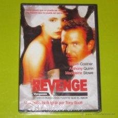 Cine: DVD.- REVENGE - KEVIN COSTNER - MADELEINE STOWE - ANTHONY QUINN - PRECINTADA. Lote 50415088