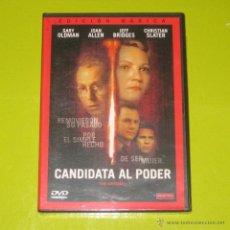 Cine: DVD.- CANDIDATA AL PODER - JOAN ALLEN - JEFF BRIDGES - DESCATALOGADA - PRECINTADA. Lote 50415137