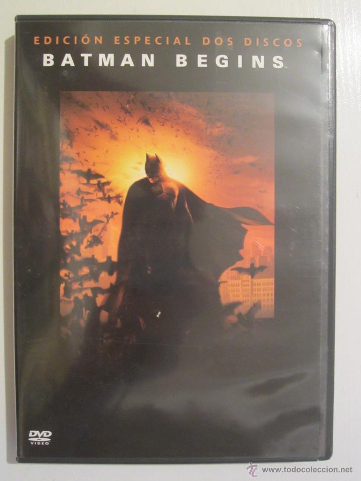 DVD BATMAN BEGINS EDICION DOS DISCOS (Cine - Películas - DVD)