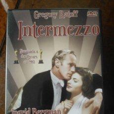 Cine: DVD INTERMEZZO (1939) - INGRID BERGMAN - GREGORY RATOFF - LESLIE HOWARD. Lote 50501098