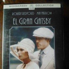 Cine: DVD EL GRAN GATSBY (1974) - JACK CLAYTON - MIA FARROW - ROBERT REDFORD - BRUCE DERN. Lote 50501218