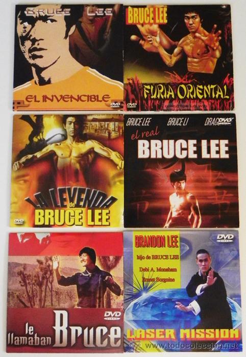 LOTE DE PELÍCULAS BRUCE LEE BRANDON OTRO- DVD DOCUMENTAL LA LEYENDA ARTES MARCIALES KUNG FU PELÍCULA (Cine - Películas - DVD)