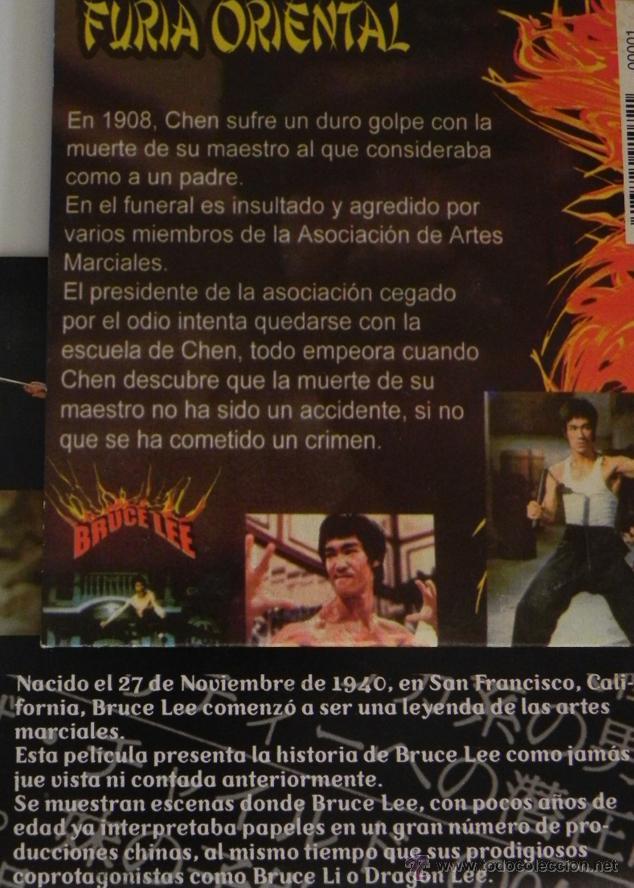 Cine: LOTE DE PELÍCULAS BRUCE LEE BRANDON OTRO- DVD DOCUMENTAL LA LEYENDA ARTES MARCIALES KUNG FU PELÍCULA - Foto 2 - 50506542
