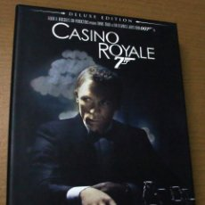 Cine: DVD --- 007 - JAMES BOND : CASINO ROYALE (DELUXE EDITION) --- CON DANIEL CRAIG Y EVA GREEN.. Lote 50553044