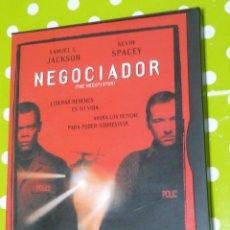 Cine: CINE GOYO - DVD - NEGOCIADOR - SAMUEL L JACKSON - KEVIN SPACEY - SOLO LA CAJA *EE99. Lote 50555191