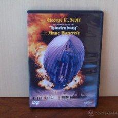 Cine: HINDENBURG - GEORGE C. SCOTT - ANNE BANCROFT - DVD. Lote 50579034