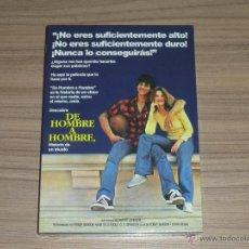 Cine: DE HOMBRE A HOMBRE DVD NUEVA PRECINTADA. Lote 126051587