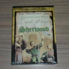 Cine: LA ESPADA DEL BOSQUE DE SHERWOOD DVD PETER CUSHING NUEVA PRECINTADA. Lote 213607065