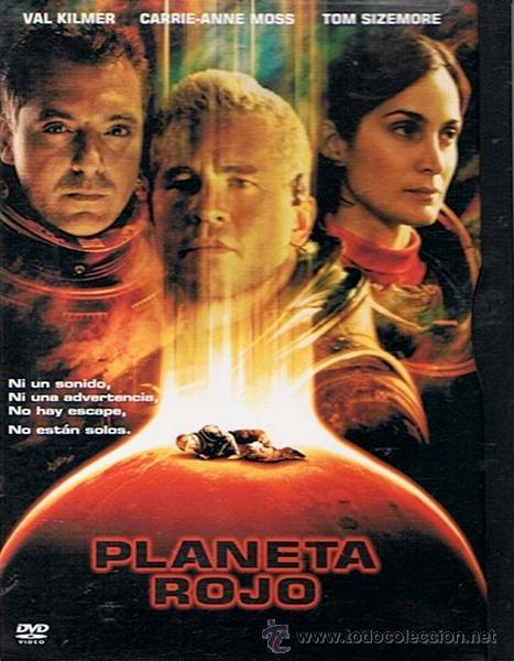 DVD PLANETA ROJO VAL KILMER (Cine - Películas - DVD)