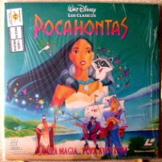 Cine: POCAHONTAS .WALT DISNEY.....LASER DISC...EX+. Lote 121411720
