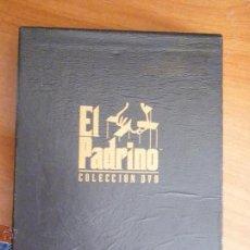 Cine: COLECCION DVD PELICULA EL PADRINO. Lote 50793086
