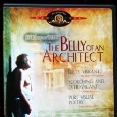 Cine: THE BELLY OF AN ARCHITECT - PETER GREENAWAY - EL VIENTRE DE UN ARQUITECTO - WIM MERTENS. Lote 50882787