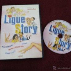 LIGUE STORY ( ALFONSO PASO TONY LEBLANC ) DVD ESPAÑOLA COMEDIA CINE ESPAÑOL
