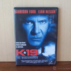 Cine: K-19 THE WIDOWMAKER - HARRISON FORD - LIAM NEESON - DVD. Lote 50954946
