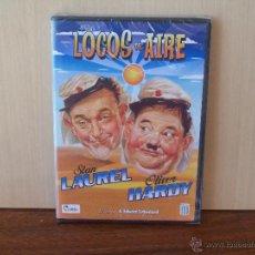 Cine: LOCOS DEL AIRE - STAN LAUREL - OLIVER HARDY - DIRIGIDA POR A. EDWARD SUTHERLAND - DVD NUEVO PRE. Lote 243976815
