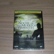 Cine: LA NOCHE DE LOS MUERTOS VIVIENTES EDICION COLECCIONISTAS DVD EN COLOR RESTAURADA NUEVA PRECINTADA. Lote 180099453