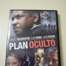 Cine: PLAN OCULTO (DVD). Lote 50974362