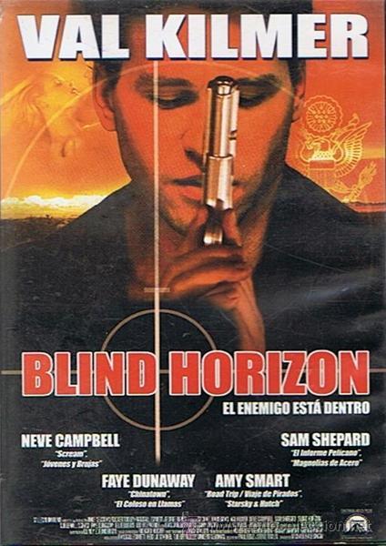 DVD BLIND HORIZON VAL KILMER (Cine - Películas - DVD)