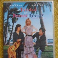 Cine: LA VERDAD SOBRE PERROS Y GATOS. DVD DE LA PELICULA DE UMA THURMN Y JANEANE GAROFALO.. Lote 51020683