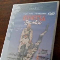 Cinema: DVD CINEMA PARADISO, DIRECCIÓN Y GUIÓN GIUSEPPE TORNATORE. MÚSICA ENNIO MORRICONE. PRECINTADO.. Lote 51058446