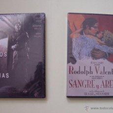 Cine: LOTE 2 DVD'S: ADIÓS A LAS ARMAS - SANGRE Y ARENA (CINE CLÁSICO). Lote 51074316