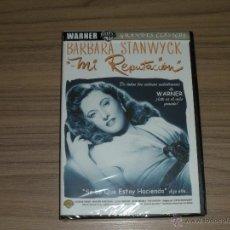 Cine: MI REPUTACION DVD BARBARA STANWYCK NUEVA PRECINTADA. Lote 179333638