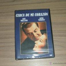 Cine: CERCA DE MI CORAZON DVD RAY MILLAND GENE TIERNEY NUEVA PRECINTADA. Lote 194660931