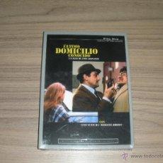 Cine: ULTIMO DOMICILIO CONOCIDO EDICION ESPECIAL REMASTERIZADA DVD LINO VENTURA NUEVA PRECINTADA. Lote 179386105