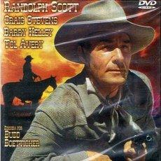 Cine: DVD BUCHANAN CABALGA DE NUEVO RANDOLPH SCOTT (PRECINTADO). Lote 51108581