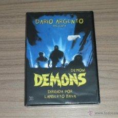 Cine: DEMONS DVD DARIO ARGENTO NUEVA PRECINTADA TERROR. Lote 183995288