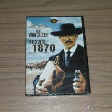 Cine: TEXAS 1870 DVD LEE VAN CLEEF NUEVA PRECINTADA DE LOS PRODUCTORES DE EL BUENO EL FEO Y EL MALO. Lote 181692920