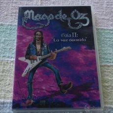 Cine: MAGO DE OZ, GAIA II, DVD LA VOZ DORMIDA, LOMOTIVE RECORDS, 2005, 60'.. Lote 51351105