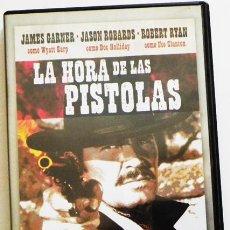 Cine: LA HORA DE LAS PISTOLAS - DVD PELÍCULA DEL OESTE - HECHO REAL - STURGES GARNER ROBARDS - WYATT EARP. Lote 51358872