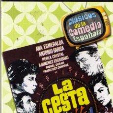 Cine: DVD. LA CESTA. CON ANTONIO GARISA, ANA ESMERALDA, F. CAMOIRAS... PRECINTADO. Lote 75896535