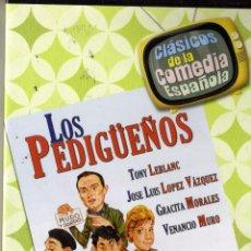 Cine: DVD. LOS PEDIGÜEÑOS. T. LEBLANC,LOPEZ VAZQUEZ PRECINTADO. Lote 180224772