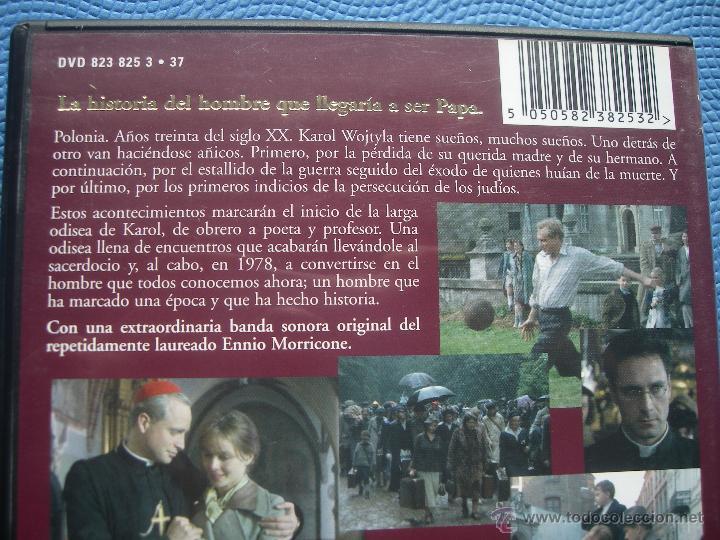 Cine: DVD KAROL EL HOMBRE QUE SE CONVIRTIO EN PAPA - Foto 2 - 150847536