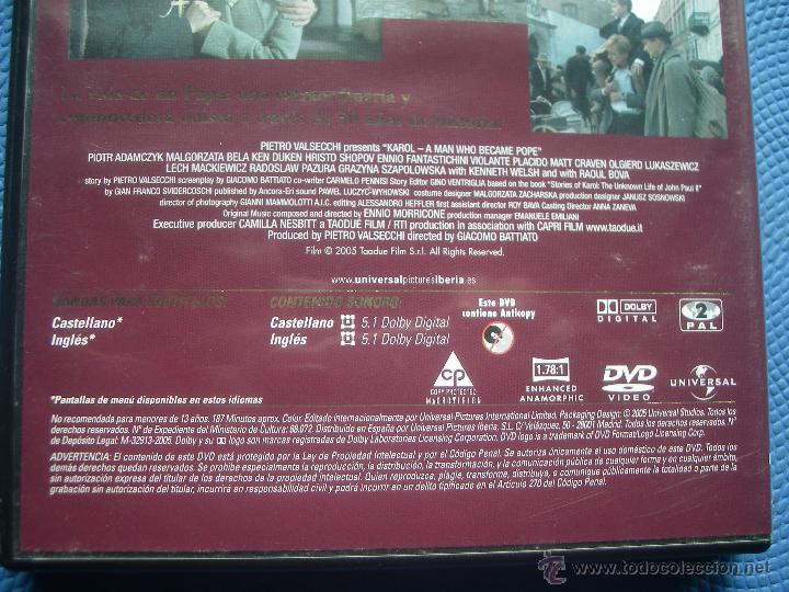 Cine: DVD KAROL EL HOMBRE QUE SE CONVIRTIO EN PAPA - Foto 3 - 150847536