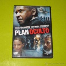Cine: DVD.- PLAN OCULTO - SPIKE LEE - DENZEL WASHINGTON. Lote 51482724