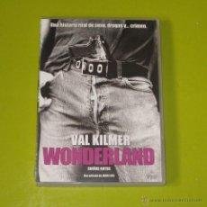 Cine: DVD.- WONDERLAND - VAL KILMER. Lote 51494797