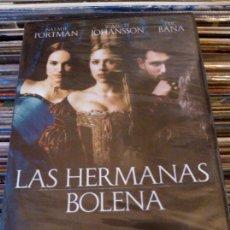 Cine: DVD LAS HERMANAS BOLENA (2008) - NATALIE PORTMAN - SCARLETT JOHANSSON - ERIC BANA. Lote 51532558