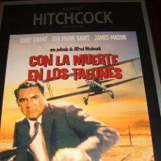 Cine: ALFRED HITCHCOCK. CON LA MUERTE EN LOS TALONES.. Lote 51547572