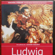 Cine: LUDWIG (LUCHINO VISCONTI, 1973, H. BERGER, R. SCHNEIDER, T. HOWARD) (2 DVDS, RESTAURADA). Lote 51559700