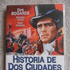 Cine: HISTORIA DE DOS CIUDADES. DVD DE LA PELICULA DE RALPH THOMAS. CON DIRK BOGARDE. COLOR. 112 MINUTOS.. Lote 51576817