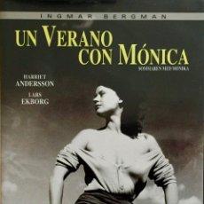 Cine: UN VERANO CON MÓNICA- LA PELÍCULA QUE CONSAGRÓ MUNDIALMENTE A INGMAR BERGMAN-FILM DE CULTO. Lote 51584047