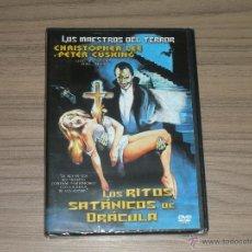 Cine: LOS RITOS SATANICOS DE DRACULA DVD CHRISTOPHER LEE PETER CUSHING NUEVA PRECINTADA. Lote 191332401