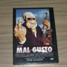 Cine: MAL GUSTO DVD BAD TASTE PETER JACKSON NUEVA PRECINTADA. Lote 179527856