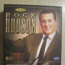 Cine: DVD COLECCION ROCK HUDSON 6 DVDS. Lote 51625664