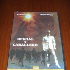 Cine: DVD - OFICIAL Y CABALLERO - RICHARD GERE - DEBRA WINGER. Lote 51631529