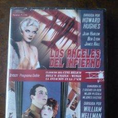 Cine: DVD LOS ÁNGELES DEL INFIERNO (1930) + ALAS (1927). Lote 51659562