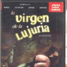 Cine: LA VIRGEN DE LA LUJURIA DVD:(ARTURO RIPSTEIN) DESCATALOGADISIMA Y ...SÓRDIDA... UNA JOYA. Lote 184822812